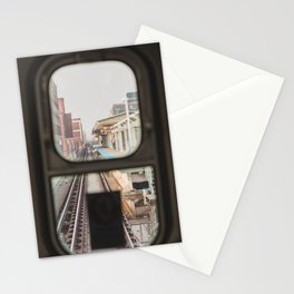 Loop Bound - Chicago El Photography Stationery Cards