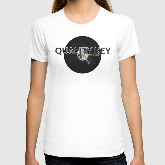 Quality Key: Vinyl Time T-shirt