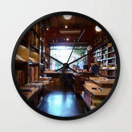 El Libreria Y Cafe, Libros del Pasaje, Buenos Aires Wall Clock