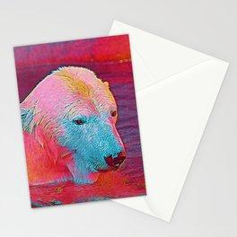 Popular Animals - Polar Bear Stationery Cards