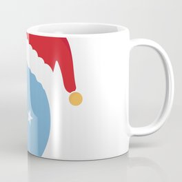 Micronesia Christmas sant claus flag designs  Coffee Mug