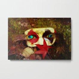 Woodland Masquerade Metal Print