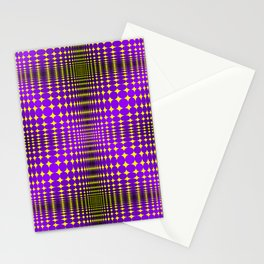 Optical illusions in graphics, art. Stationery Cards