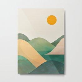 Minimalistic Landscape 14 Metal Print