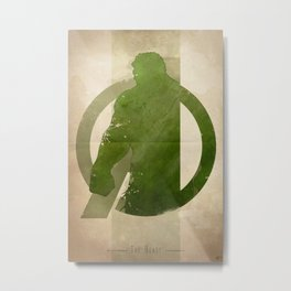 Avengers Assembled: The Beast Metal Print