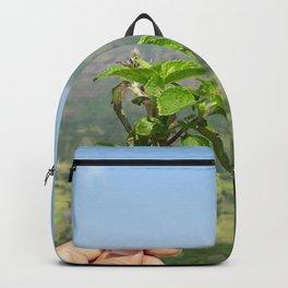 Mountaintop Green Landscape Backpack