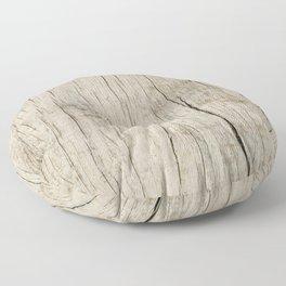 Vintage wood texture Floor Pillow