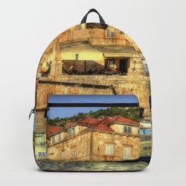 Textures of Hvar Backpack