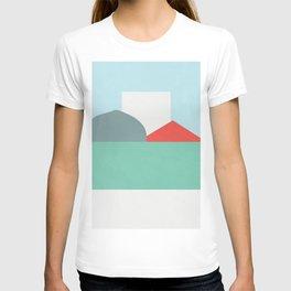 Color and Shape - Kansas Cornfield T-shirt