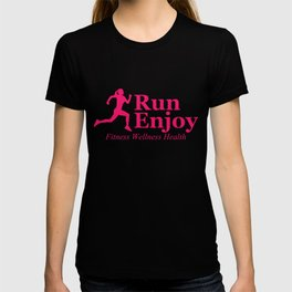 Run and enjoy T-shirt