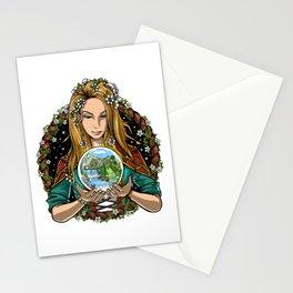 Hippie Nature Shaman Stationery Cards