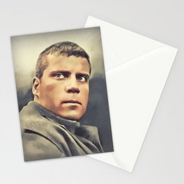 Oliver Reed, Vintage Actor Stationery Cards