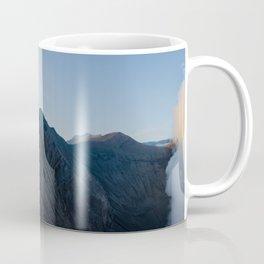 Walking on the edge of Bromo Coffee Mug