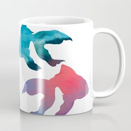 Pattern Oil Painting Abstract Tropical Fish Coffee Mug