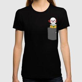 Evil Pocket Clown T-shirt