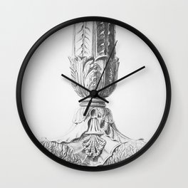 Lion's Feet Wall Clock