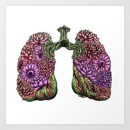 Plant Lungs Art Print