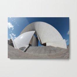Music hall of Tenerife island 2 Metal Print