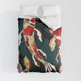 Metallic Koi Comforters