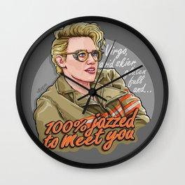 100% Jazzed to meet you - Holtzmann Wall Clock