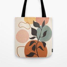 Abstract Minimal Shapes 23 Tote Bag