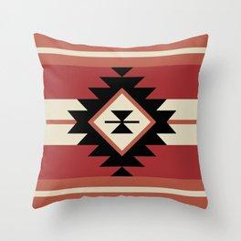 Aztec pattern 5 Throw Pillow