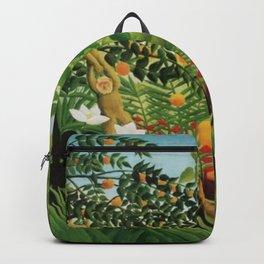 Henri Rousseau Exotic Landscape Backpack