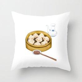 Dim Sum | XiaoLongBao | 小笼包 Throw Pillow