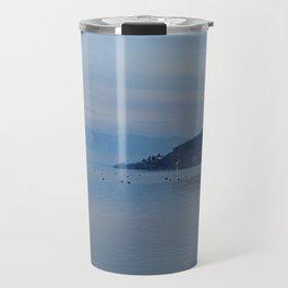 Lake Ohrid Blue hour Travel Mug