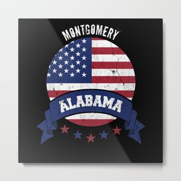 Montgomery Alabama Metal Print