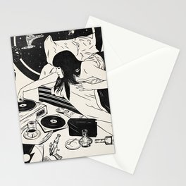 Books About UFOs Stationery Cards