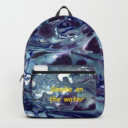 Smoke on the water Backpack