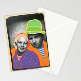 The Colour Theory Couple Stationery Cards