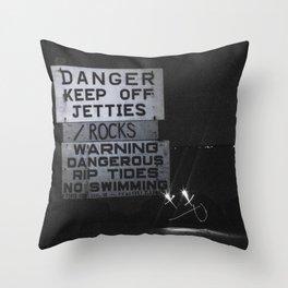 Experiment Throw Pillow