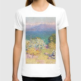 John Peter Russell - In the morning, Alpes Maritimes from Antibes T-shirt