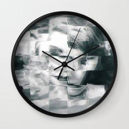 Young woman Wall Clock