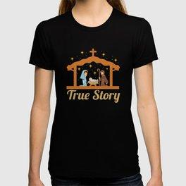 Cute Jesus Christ Priest Quote Christmas Xmas Gift T-shirt