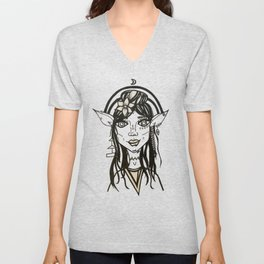 Elf Vibes Unisex V-Neck
