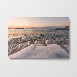 Sea water Metal Print