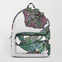 Art Nouveau Morning Glory Isolated Backpack