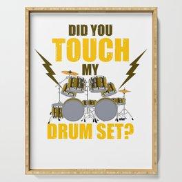 My Drum Set Serving Tray