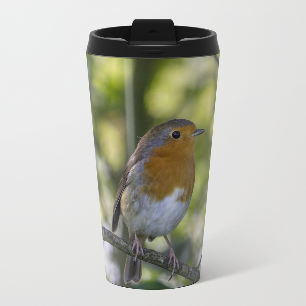 Robin Redbreast. Travel Mug (TRM7677595) photo