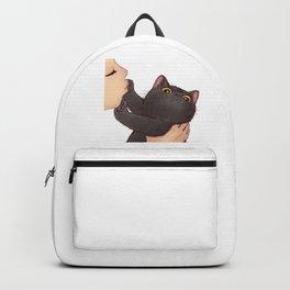 cat : huuh Backpack