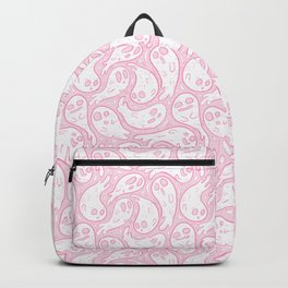 Good Lil' Ghost Gang in Pale Pink Backpack