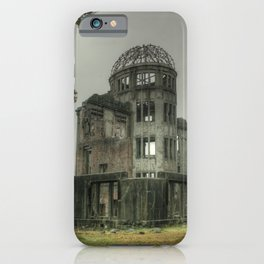 Hiroshima Atomic Dome iPhone Case