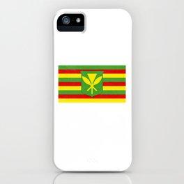 Kanaka Maoli Native Hawaiian design iPhone Case