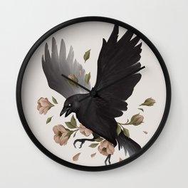 Caw Wall Clock