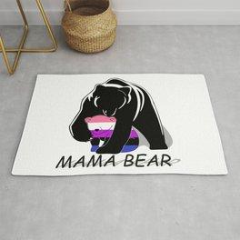 Mama Bear Genderfluid Rug