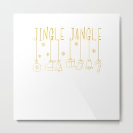 The Jingle Jangle - XMas Rudolph Christmas Metal Print