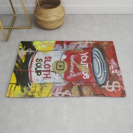 Sloth Soup Preserves Rug
